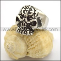 Exquisite Skull Stainless Steel Ring  r001701