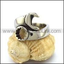 Stainless Steel Biker Ring  r003271