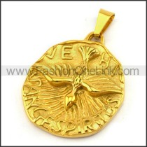 Delicate Stainless Steel Plating Pendant  p003065