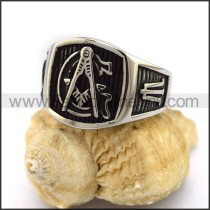 Exquisite Stainless Steel Casting Ring r003152