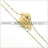Gold Small Chain n000935