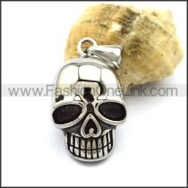 Unique Stainless Steel Skull Pendant  p001883