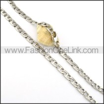 Chic Succinct Stamping Necklace    n000318