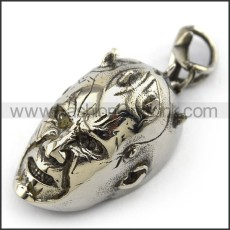 Exquisite Stainless Steel Skull Pendant   p004006