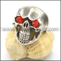 Stainless Steel Delicate Skull Ring r002026
