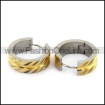 Classic Plating Stainless Steel  Earrings     e000006