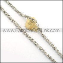 Delicate Silver Stamping Necklace    n000400