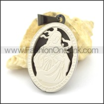 Delicate Stainless Steel Casting Pendant   p002389