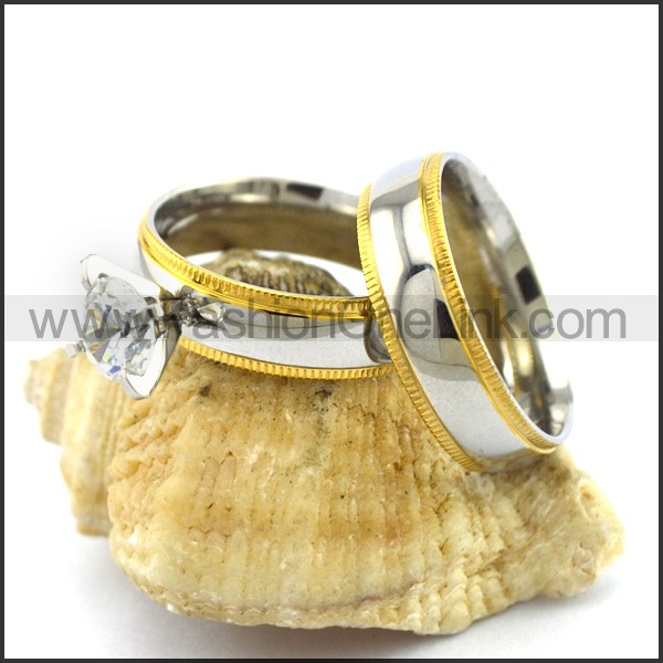 Elegant Stainless Steel Ring    r003071