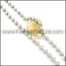 Elegant Coil Fashion Necklace n000475