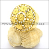 Delicate Shiny Stone Ring  r002179