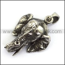 Delicate Stainless Steel Casting Pendant   p003878