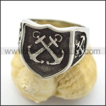 Delicate Stainless Steel Ring  r001925