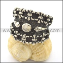 Delicate  Stainless Steel Casting Ring  r002339