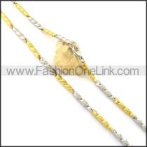 Elegant Plated Necklace n000639