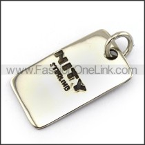 Exquisite Stainless Steel Casting Pendant   p003992