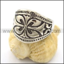 Vintage Stainless Steel Casting Ring  r001896