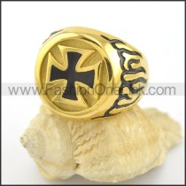 Dlicate Cross Ring r001579