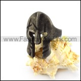 Vintage Spartan Mask Ring for Wholesale r004886