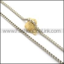 Hot Selling Interlocking Stamping Necklace n001004