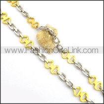 Delicate Cross Golden Plated Necklace n000804