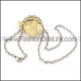 Graceful Stainless Steel  Small Chain    n000420