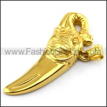 Delicate Stainless Steel Plating Pendant   p003398