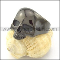 Stainless Steel Wicked Skull Ring r001210