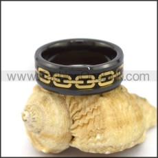 Elegant Stainless Steel Ring r003096