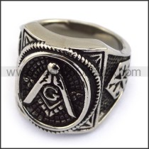 Exquisite Stainless Steel Casting Ring  r003614