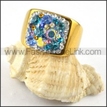 Stainless Steel Rings for Women Gold r000227