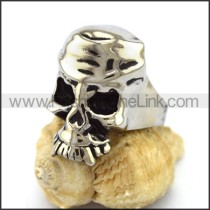 Unique Stainless Steel Skull Ring  r003209