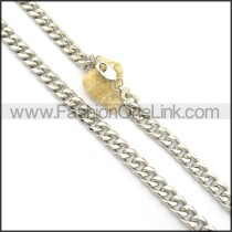 Silver Succinct Plated Necklace n000916