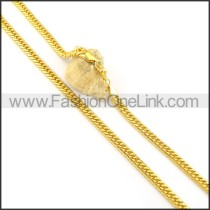 Delicate Golden Plated Necklace n000649