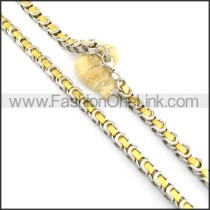 Exquisite Golden Plated Necklace n000667
