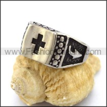 Delicate Stainless Steel Casting Ring r003172