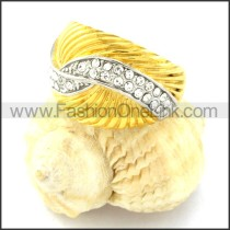 High Quality Plating Ring for Ladies r000764