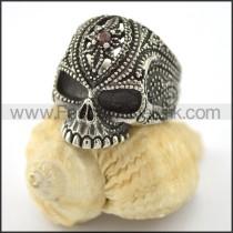 Exquisite Skull Ring  r001561