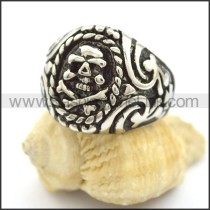 Exquisite Stainless Steel Skull Ring  r001792