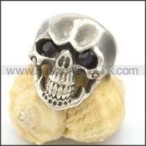 Stainless Steel Delicate Skull Ring r002025
