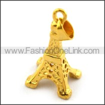 Delicate Stainless Steel Plating Pendant   p003395