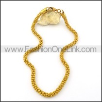 Golden Plated Necklace   n000362