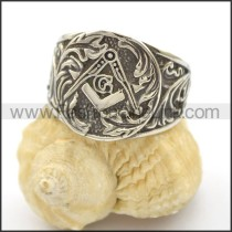 Unique Stainless Steel Casting Ring  r002514