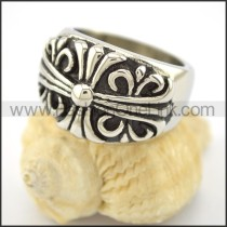 Delicate Stainless Steel Ring r001598