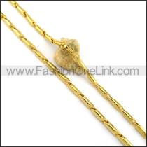 Elegant Plated Necklace n001062