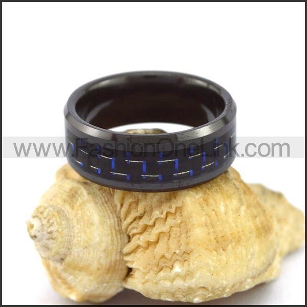 Elegant Stainless Steel Ring r003093