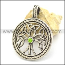 Graceful Hollowed-out Casting Pendant     p002128