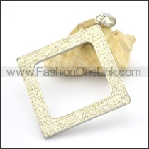 Hot Selling Stainless Steel Casting Pendant  p002224