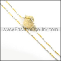 High Quality Stainless Steel Plated Necklace n000558
