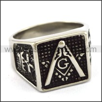 Delicate  Stainless Steel Casting Ring   r003401